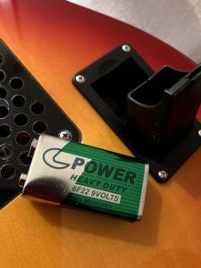 Pignose ピグノーズ 電池